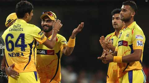 IPL 2015 Live Score, CSK vs KXIP: CSK win toss, elect to bat first against Glenn Maxwell-less KXIP