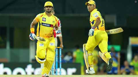 IPL 2015 Live Score, CSK vs KKR: KKR field, make three changes against CSK