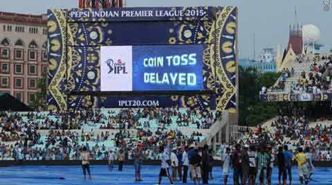 IPL 8: RR back on top after rain washes out Edencontest