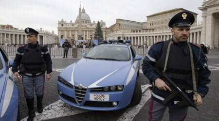 Italian authorities: Terror suspects planned Vatican attack