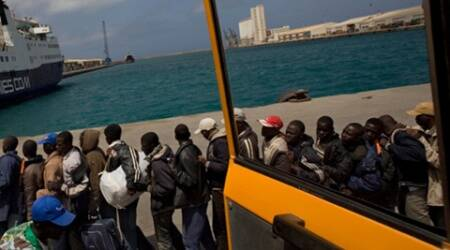 Italian fishing boat seized near Libya, apparently bypirates