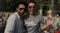 Jackky Bhagnani, Lauren Gottlieb's water park outing