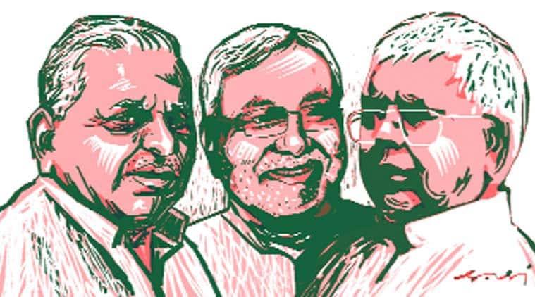mulayam singh yadav, Samajwadi Party, sp, grand alliance, janata parivar, janata party, sp walks out, Samajwadi Party walks out, latest news, bihar, bihar polls, nitish kumar, lalau yadav