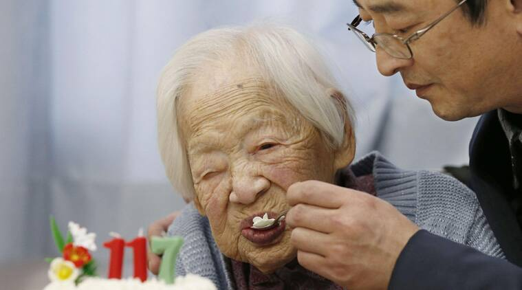 World's oldest person, oldest person,  Misao Okawa, vrial news, #viral news, #viral, #breaking,  Guinness World Records,  Guinness record, breaking news, japan news, world news