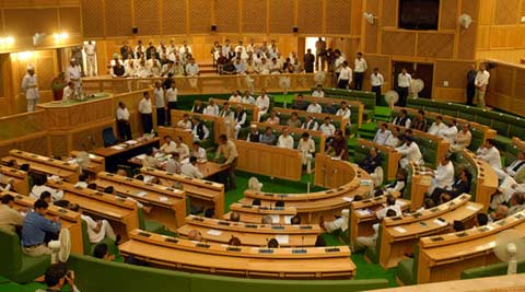 Opposition stages walkout from J&K Assembly over Jammu lake project