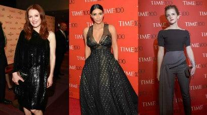 Kim Kardashian, Julianne Moore, Emma Watson