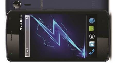 Karbonn Alfa A120 has a 3000 mAh Li-ion battery