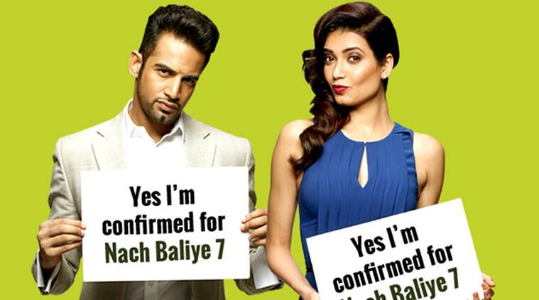 nach baliye, nach baliye 7, karishma tanna, upen patel, upen patel karishma tanaa, shakti arora, neha saxena, shakti arora neha saxena, upen patel karishma tanna bigg boss 8, bigg boss 8, rashami desai, nandish sandhu, rashami desai nandish sandhu, amruta khanvilkar himanshoo malhotra, chetan bhagat, ekta kapoor, entertainment news, television news, dance reality shows