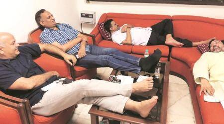 Arvind Kejriwal's 'dharna in an air conditioned room' a 'drama', saysCongress
