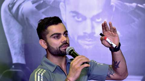 I am learning the ropes and probably also getting calmer, says ViratKohli