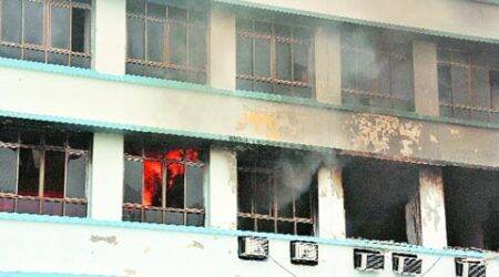 Fire breaks out at New Secretariat, several govt recordsgutted