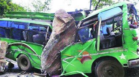 Himachal Pradesh bus accident, Accident himachal Pradesh, accident bus, bus accident, Himachal Pradesh news, India news