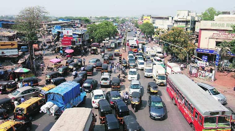 LBS marg, traffic, mumbai roads, mumbai traffic, Lal Bahadur Shastri Marg, BMC, Mumbai traffic, mumbai traffic police, traffic police, sion, kurla, damodar park, mumbai news, city news, local news, mumbai newsline