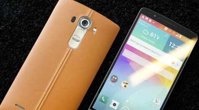 LG G4 with Slim Arc Design and leather on the back is out: All the keyspecs