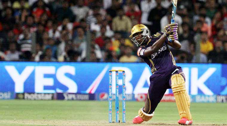 Russell blinder seals KKR win