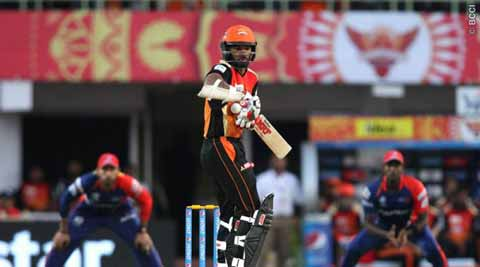 IPL Live Score, DD vs SRH: SRH lose openers in a hurry against DD