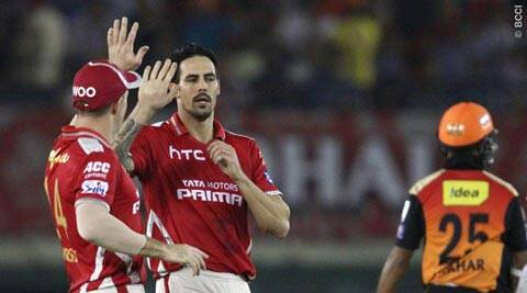 IPL 8: SRH beat KXIP by 20 runs