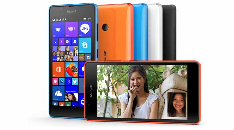 Microsoft has just launched the Lumia 540.