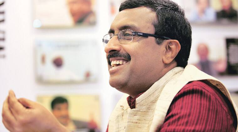 Ram Madhav, Idea Exchange, BJP PDP, J&K, RSS