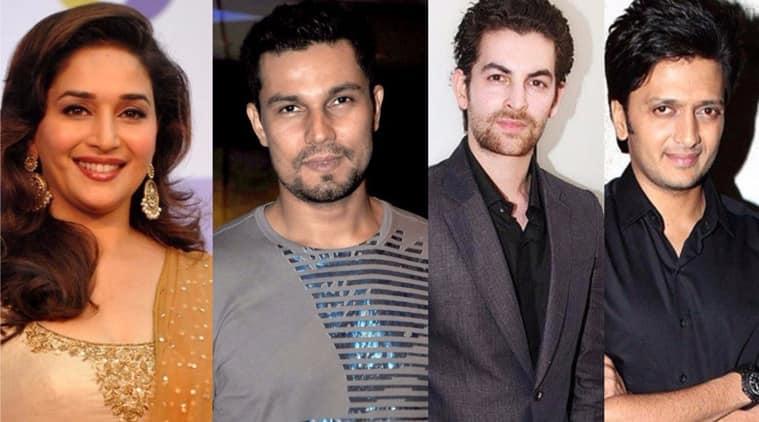 Madhuri Dixit, Neil Nitin Mukesh, Riteish Deshmukh, Randeep Hooda