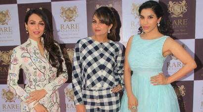 Malaika Arora Khan, Sophie Choudry pick summer colours, Amrita in black and white