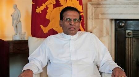 Lankan President Sirisena's party to support no-confidence motion against PM Ranil Wickremesinghe