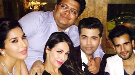 Malaika Arora Khan parties with Sophie Choudry and KJo