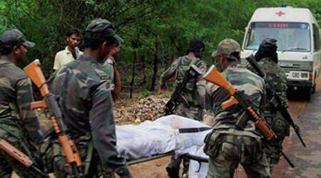 Chhattisgarh: Naxal gunned down in Sukma; weapons recovered