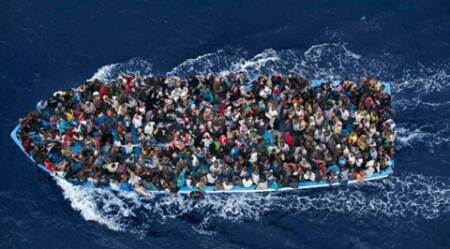 Migrant ship carrying 700 capsizes in the Mediterranean sea
