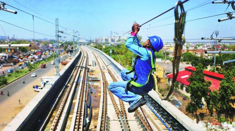 Delhi metro, Faridabad line, Violet line