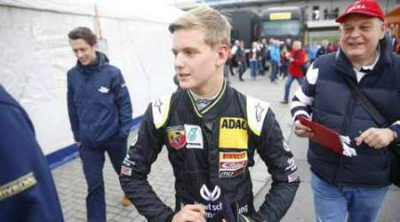Michael Schumacher's son wins on his debut F4 weekend