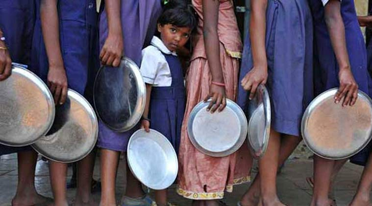 Uttar pradesh, mid day meal poisoning, mid-day meal scheme, student arrest mid day meal poisoning, food poisoning, UP news, indian express
