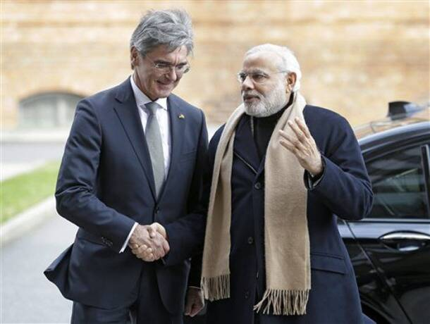 Narendra Modi, Germany, Hannover, Berlin, Modi in Germany, Angela Merke, Mayor of Hannover, iemens CEO Joe Kaeser, India Pavilion at Hannover Messe, change in India's regulatory environment, Volkswagen, Daimler
