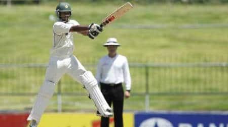 Mohammad Hafeez's maiden double swells Pakistan's lead to205