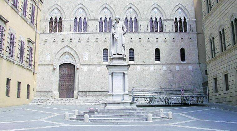 Monte dei Paschi, Siena, the world's oldest bank