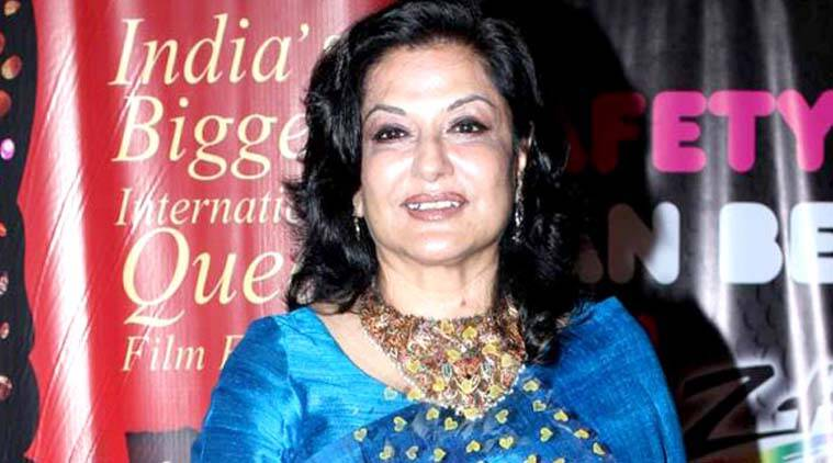 Veteran actor Moushumi Chatterjee 'criticises anchor for wearing pants'