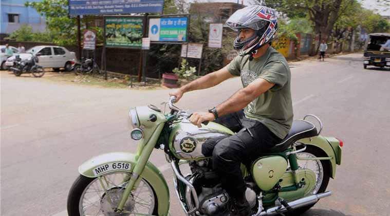 MS Dhoni fine, Dhoni fine, Dhoni bike fine, MS Dhoni bike fine, Dhoni fine bike, Mahendra Singh Dhoni, Cricket News, Cricket