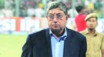BCCI adjourns WC meet over Srinivasan's presence
