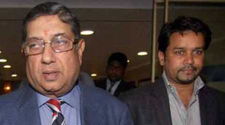 Anurag Thakur seen with alleged bookie, N Srinivasan paid agency to spy: Reports