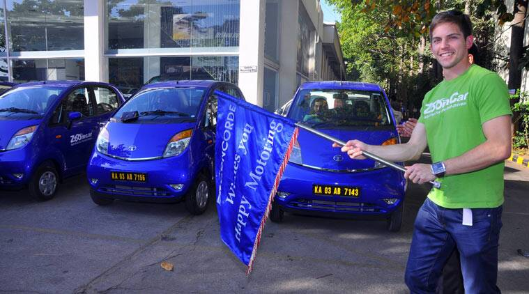 Zoomcar tied up with Tata Motors as it added 50 brand new Nanos to their fleet of cars.