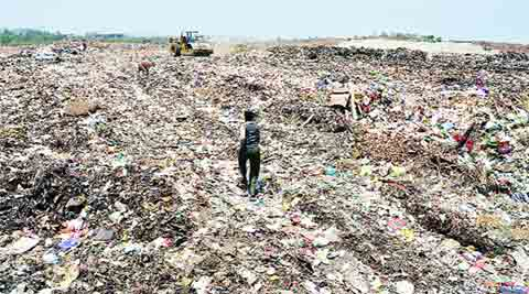 buffer zone, Moshi landfill, NEERI, Moshi Kachra depot, health concern, air quality, water quality, pune news, city news, local news, pune newsline