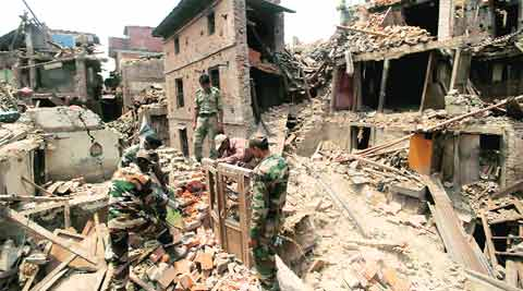 India by its side, Nepal takes first steps on recovery road