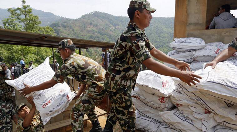 nepal struggles to cope with of foreign relief teams