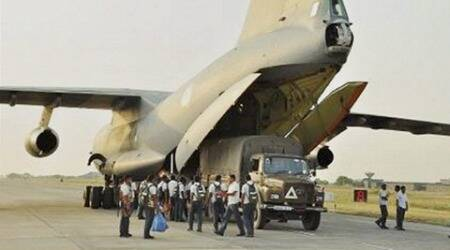 Bad weather stops 3 IAF aircraft from landing