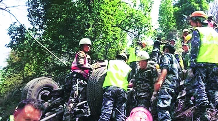 Nepal bus accident, Nepal accident, Indians in Nepal, Indian pilgrims Nepal, Nepal Indian pilgrims, Kathmandu, Kathmandu hospitals, Nepal, India latest news, Nation news
