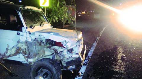 nh 73, nh 73 accident, road accident, chandigarh road accident, road crash, car crash, chandigarh car crash, nh 73 car crash, panchkula car crash, panchkula car accident, nh 73 panchkula, panchkula news, chandigarh news