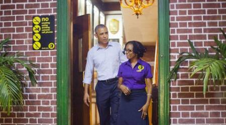 Obama visits Bob Marley Museum on first US presidential trip since 1982