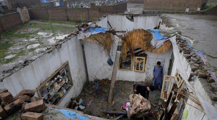 pakistan, pakistan storm, pakistan rainstorm, Peshwar rainstorm, Pakhtunkhwa storm, Pakistan relief operations, Pakistan news, world news