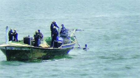 Captured Pakistan boat was to meet another in high seas, say police