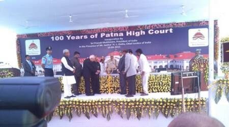 Judiciary must 'red-flag any populist decision': Pranab at Patna HC centenary meet
